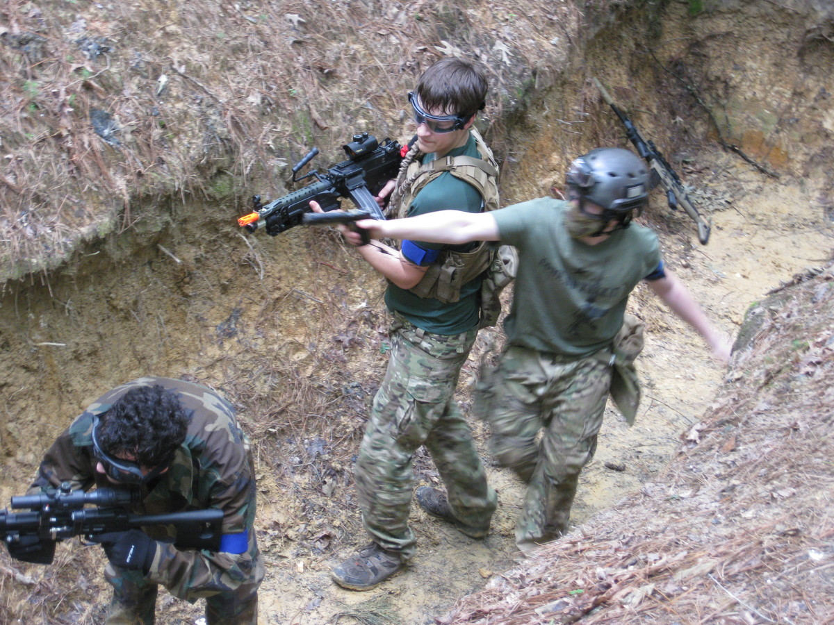 New Kent Paint Ball/Airsoft Games