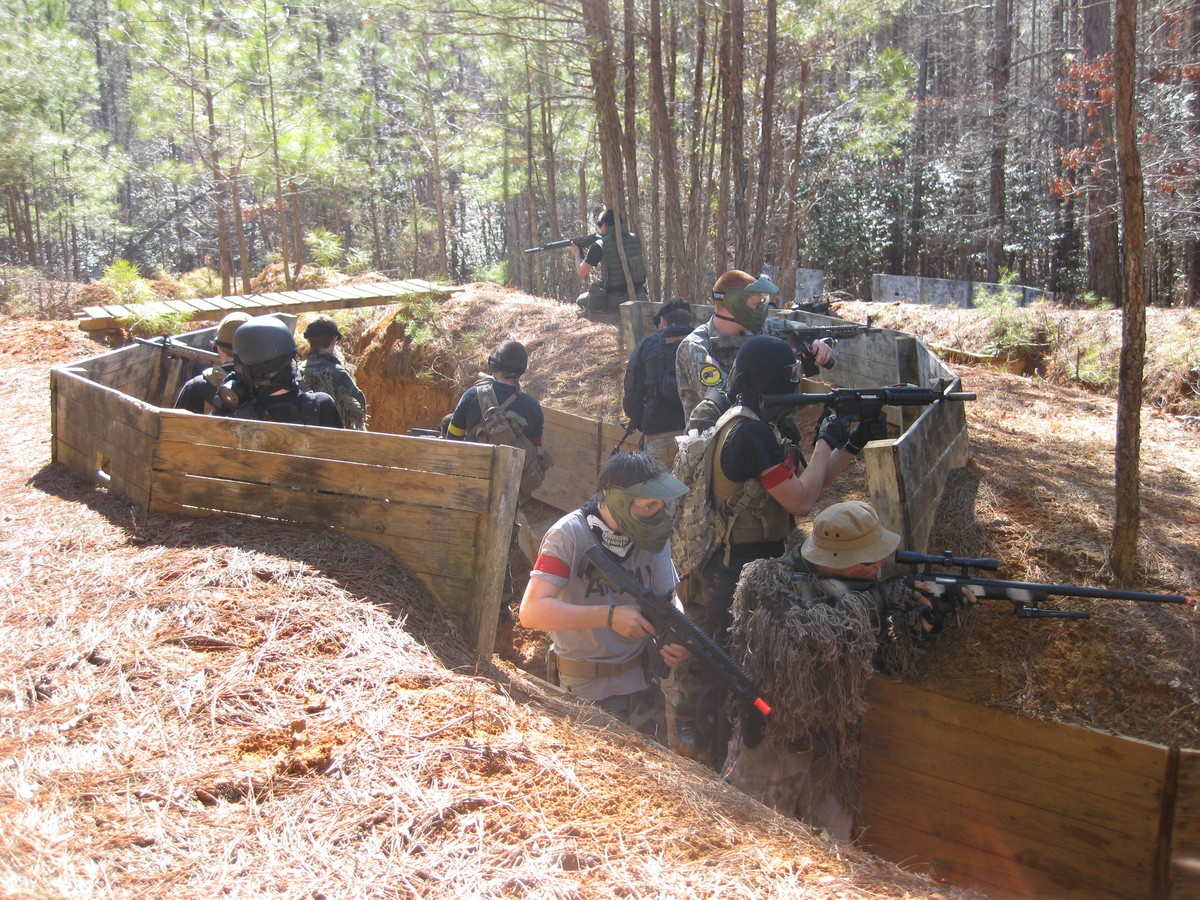 New kent paintball games