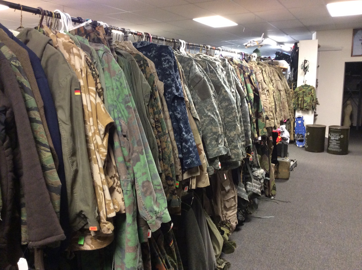 Best military clothing store