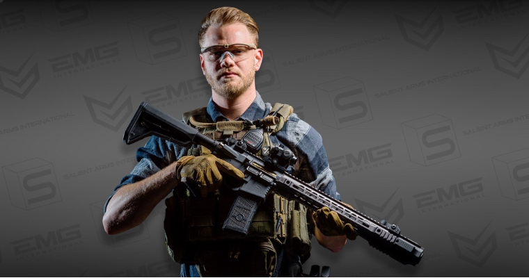 EMG / SAI GRY AR-15 AEG Training Rifle