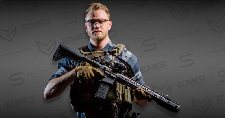 EMG / SAI GRY AR-15 AEG Training Rifle