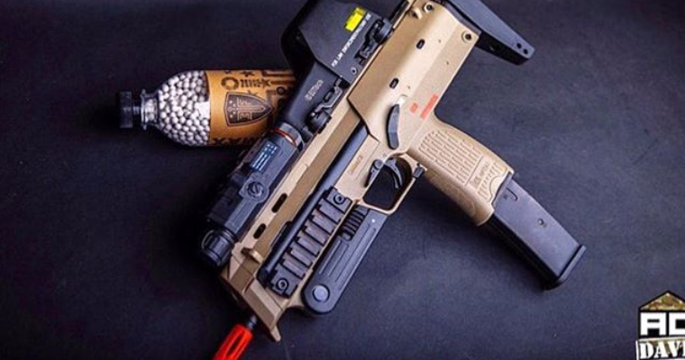 Hk MP7 GBB! ..THIS IS NOT THE AEG!!