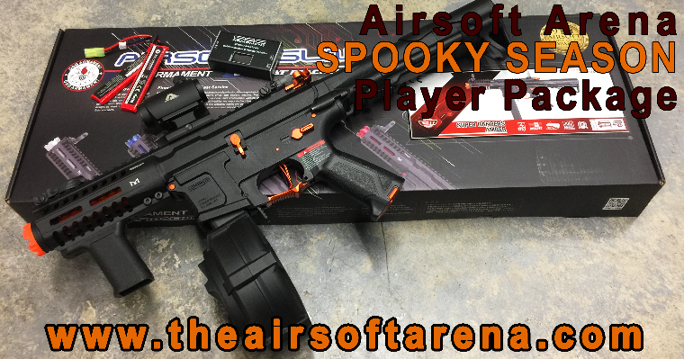 Airsoft Arena Player Package Halloween Special
