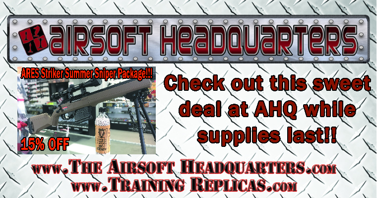 15% off the ARES Striker Summer Sniper Package