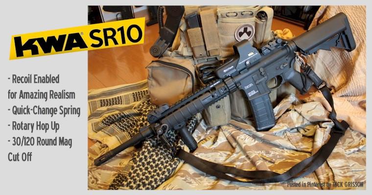 KWA RM4 SR10 AEG3 Airsoft Rifle