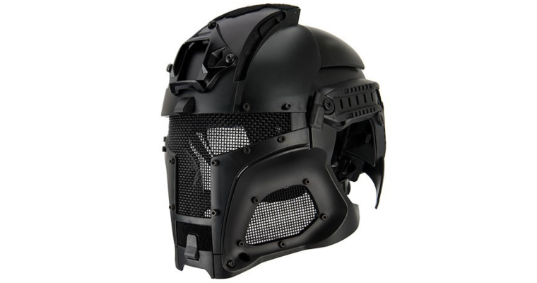 INTERSTELLAR BATTLE TROOPER FULL FACE AIRSOFT HELMET