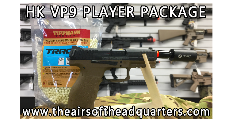 HK VP9 Tracer Player Package