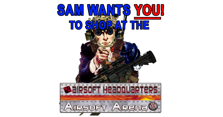 Airsoft Headquarters 'Tactical Sam' AD