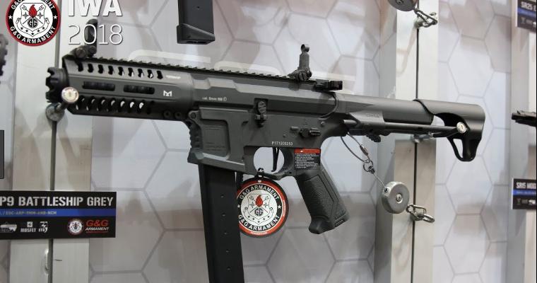 G&G CM16 SR-ARP9 CARBINE AIRSOFT AEG