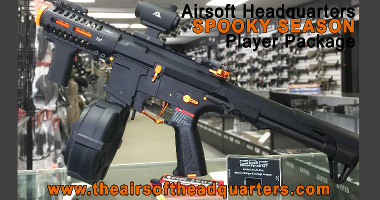 Airsoft Headquarters ARP-9 Halloween Player Package