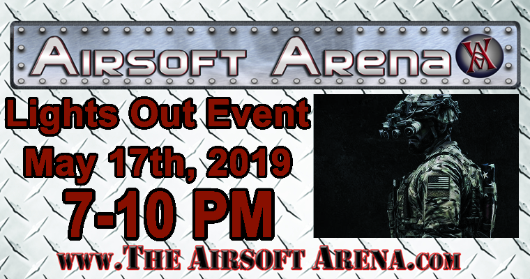 Lights Out Airsoft Event: May 17th, Milwaukee, WI